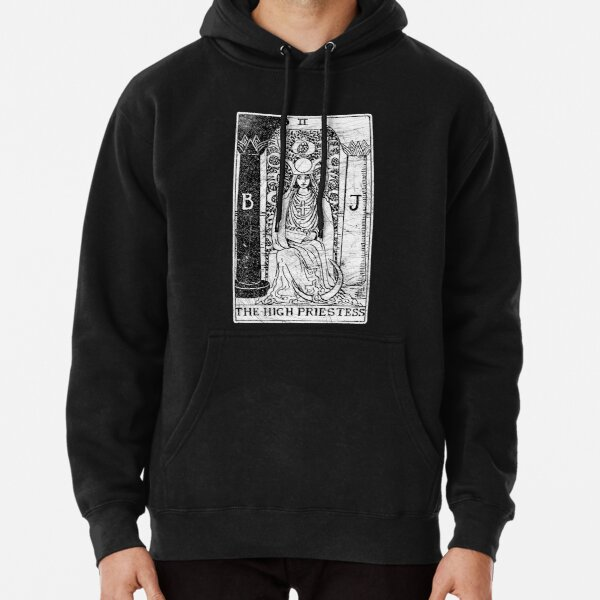 The High Priestess Tarot Card - Major Arcana - fortune telling - occult Pullover Hoodie