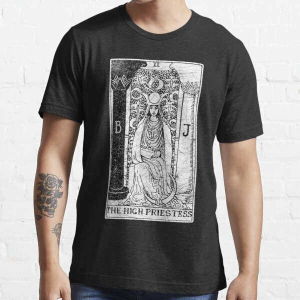 The High Priestess Tarot Card - Major Arcana - fortune telling - occult Essential T-Shirt