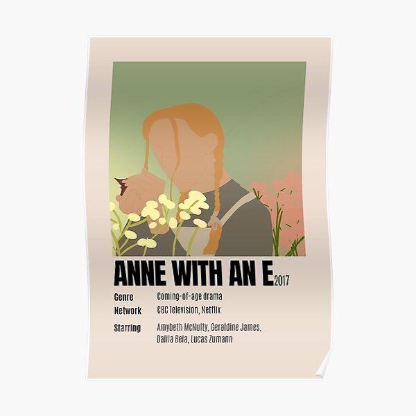 Anne avec une affiche minimaliste Poster