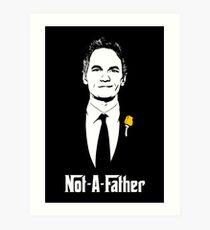 Not-A-Father Art Print
