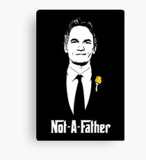Not-A-Father Canvas Print