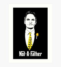 Not-A-Father (Ducky Tie Variant) Art Print