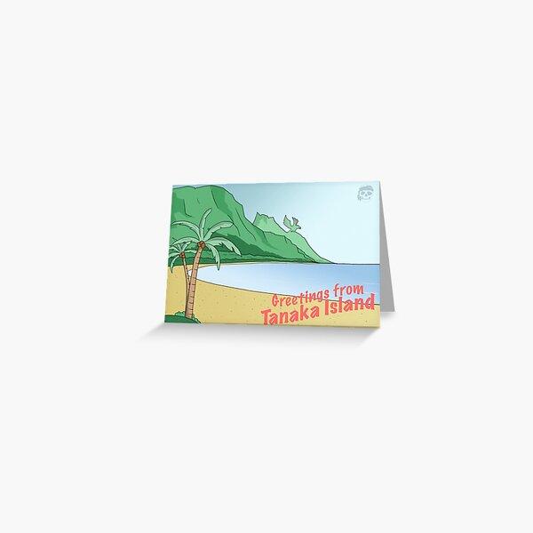 Tanaka Island Postcard Greeting Card