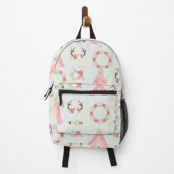 Boho Neck Gator Floral Boho Backpack