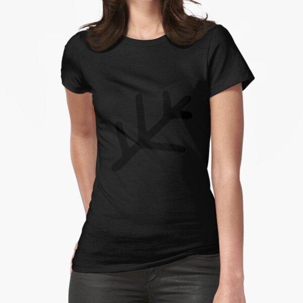 Elder Sign Sticker Fitted T-Shirt