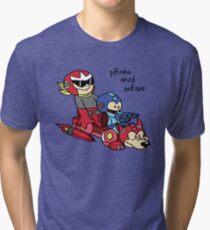 Proto and Mega Tri-blend T-Shirt