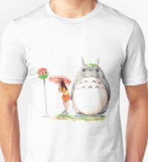 Waiting for the Cat Bus Unisex T-Shirt