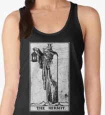 The Hermit Tarot Card - Major Arcana - fortune telling - occult Women's Tank Top