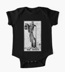 The Hermit Tarot Card - Major Arcana - fortune telling - occult One Piece - Short Sleeve