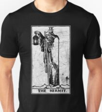 The Hermit Tarot Card - Major Arcana - fortune telling - occult Slim Fit T-Shirt
