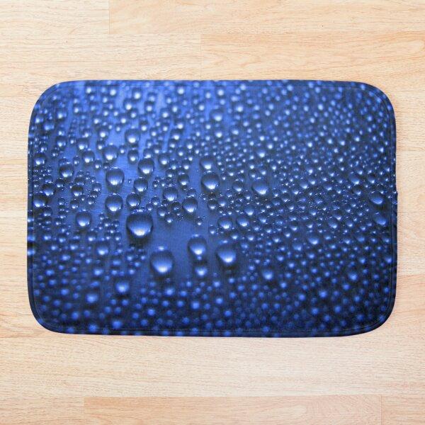 Blue Bubble Bath Mat