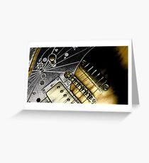 Aquarius Guitar Greeting Card