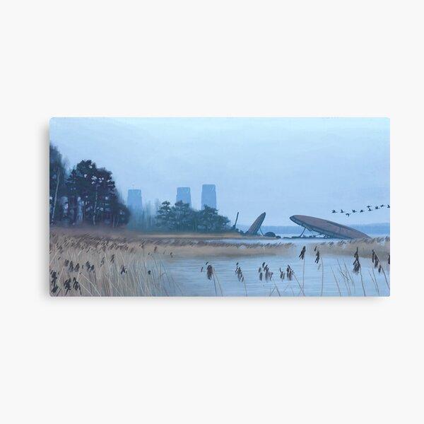Magnetrindiskar, Spånviken Canvas Print