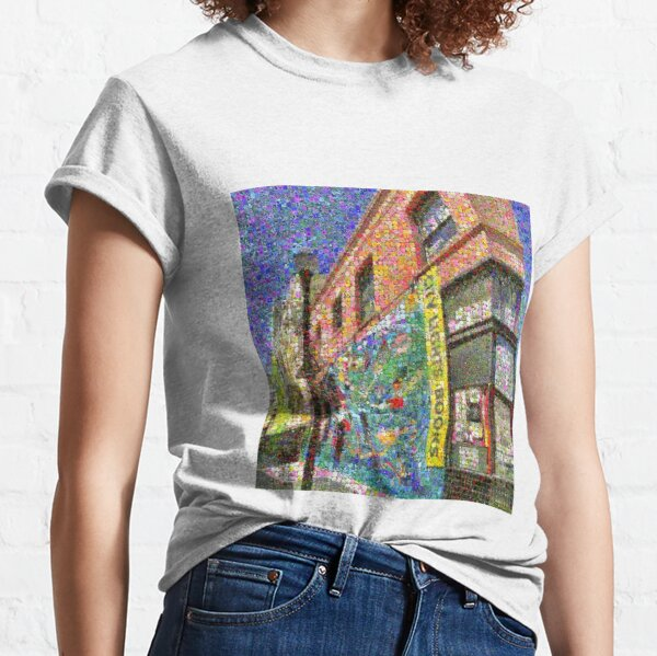 City Lights Bookstore in Bloom Classic T-Shirt