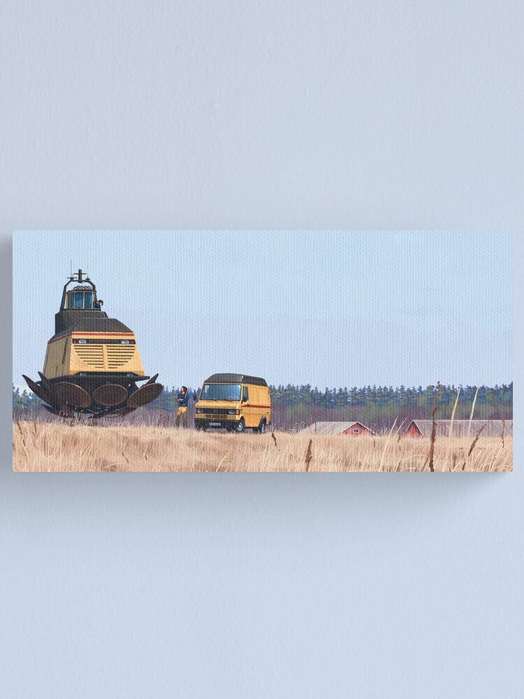Alternate view of Lokskepp T-50 Canvas Print