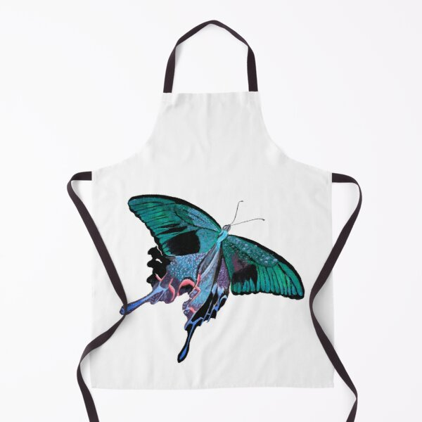 Papilio maackii (Alpine Black Swallowtail) - No. 2 Apron