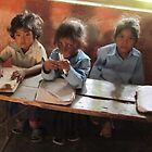 School children, Sarlahi, Nepal by Martina Nicolls