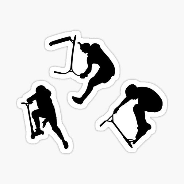 Astuces freestyle en trottinette acrobatique Sticker