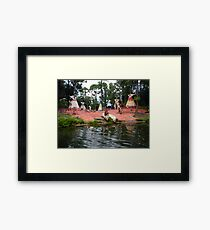 RIVER BOAT WALT DISNEY WORLD ORLANDO FLORIDA JULY 2013 Framed Print
