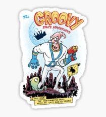 Groovy Space Adventures Sticker