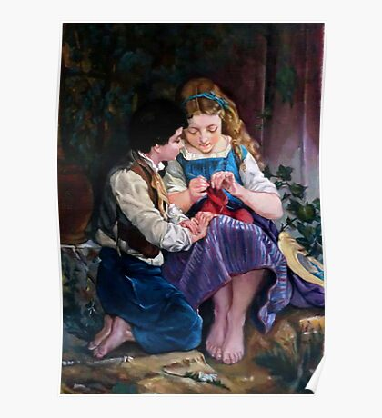 A special moment after Emile Munier Poster