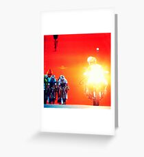 """""""Tour"""" from TV - 1 Greeting Card"""