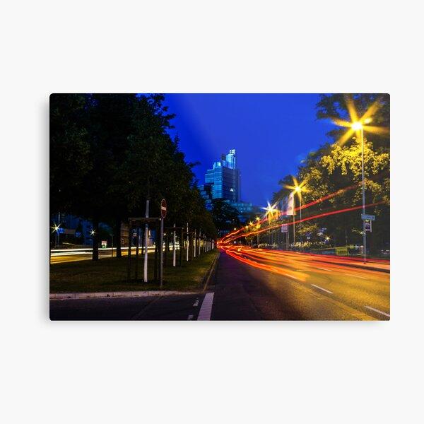 blue hour at friedrichswall (1) Metal Print
