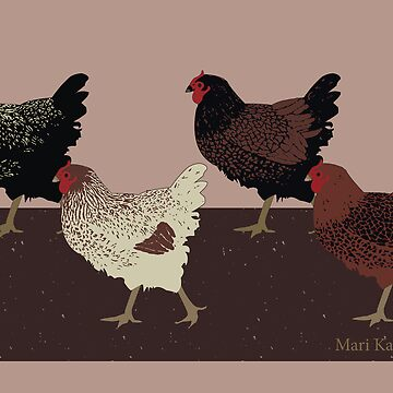 Hens Walk by Inque