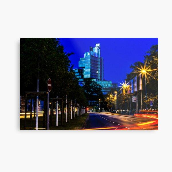 blue hour at friedrichswall (2) Metal Print