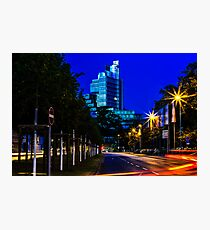 blue hour at friedrichswall (2) Photographic Print