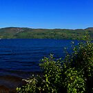 Loch Ness Panoramic by Sue Fallon Photography
