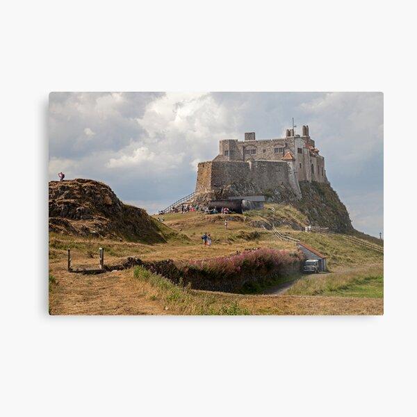 Lindisfarne Castle on Holy Island Metal Print