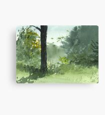 Sitting Under The Apple Tree Canvas Print