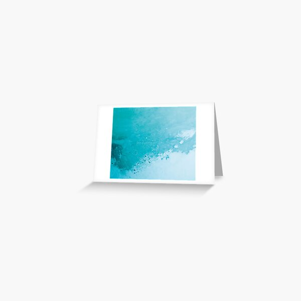 Texture blue concreet Greeting Card