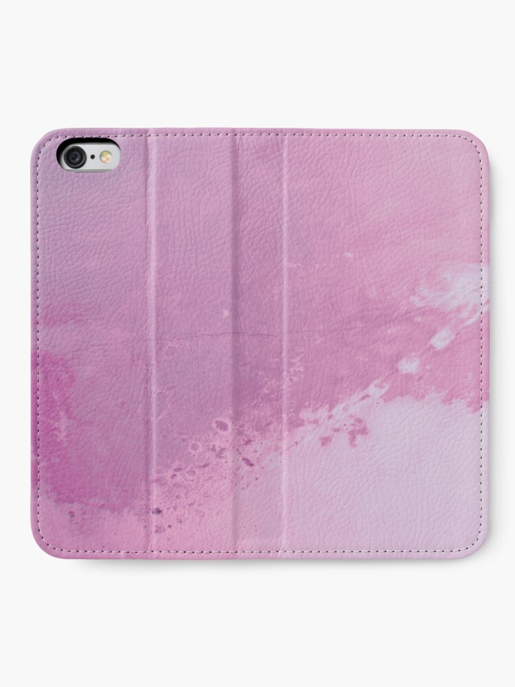 Alternate view of Texture pink concreet iPhone Wallet