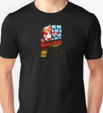 Super Mario Bros box Unisex T-Shirt