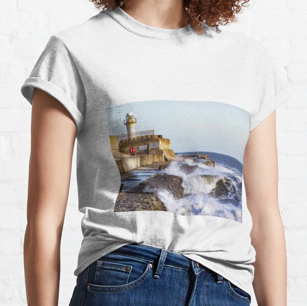 South Gare Lighthouse Classic T-Shirt