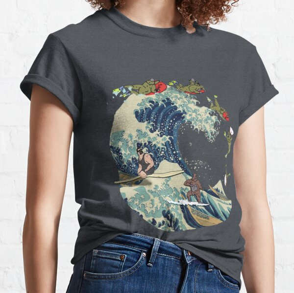 Great Wave of Browntown Classic T-Shirt