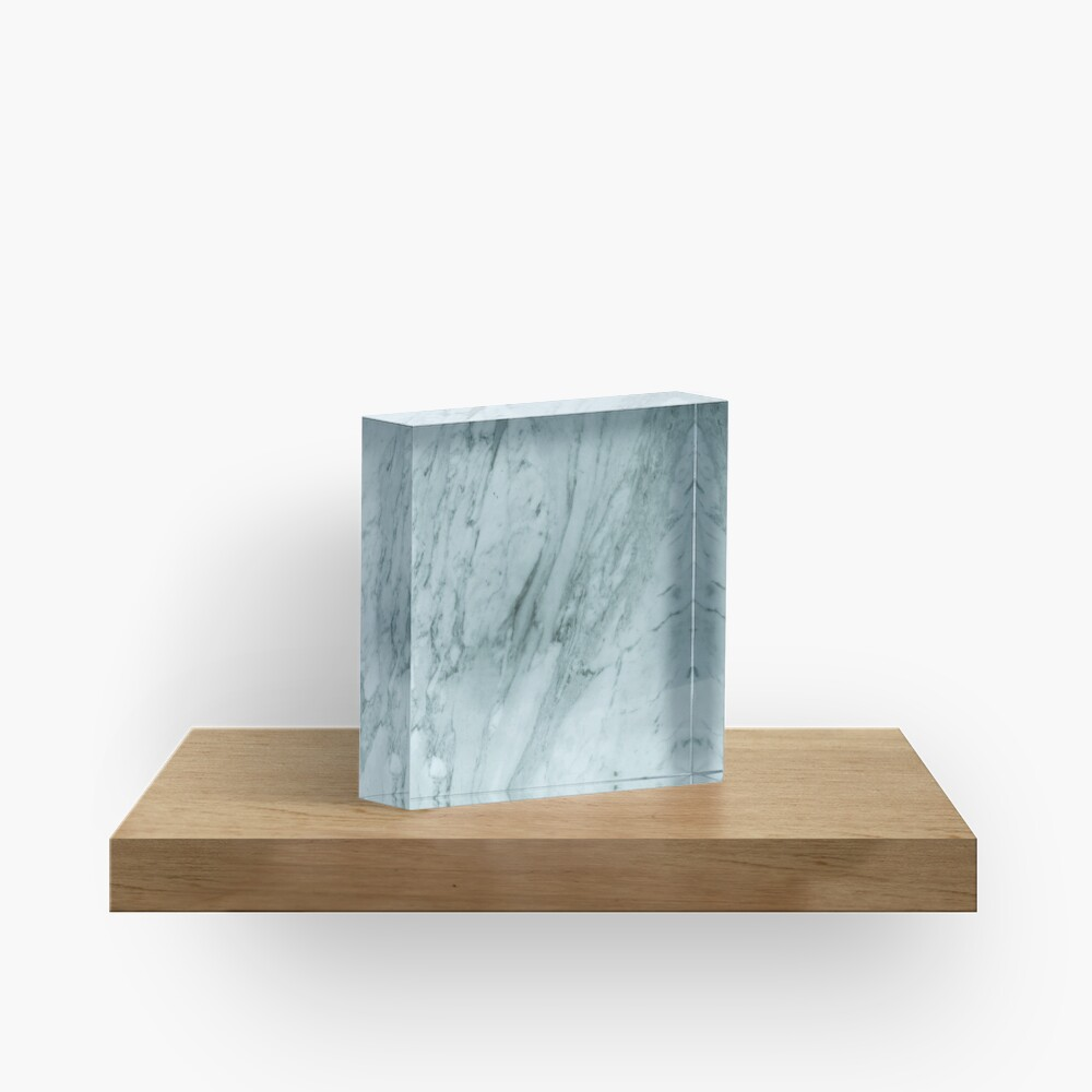 Texture green marble structure Acrylic Block