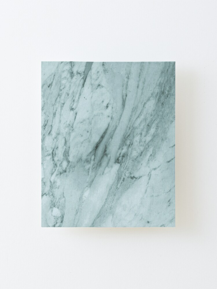 Alternate view of Texture green marble structure Mounted Print