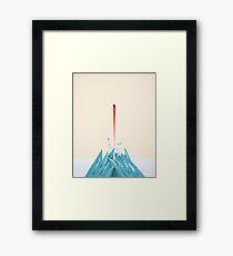Fortress of Solitude Breakout Framed Print
