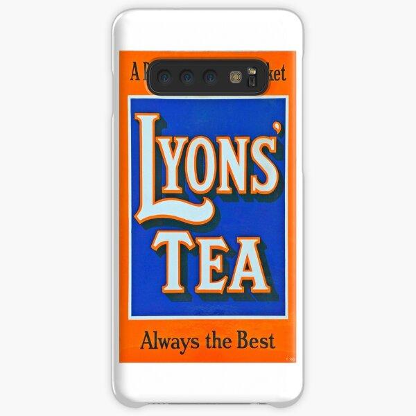 Vintage Lyons Tea enamel advert sign Samsung Galaxy Snap Case