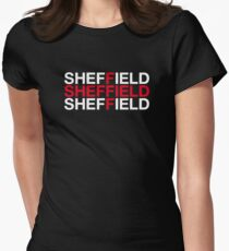 SHEFFIELD Womens Fitted T-Shirt