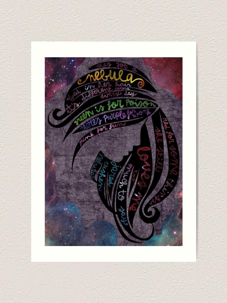 Alternate view of Nebula Art Print