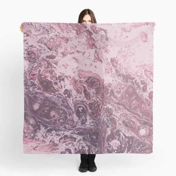 Texture pink marble structure Scarf