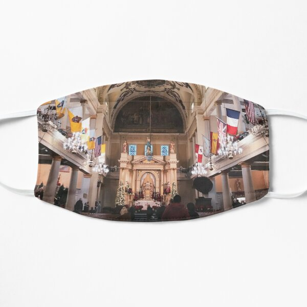 St Louis Cathedral  Flat Mask