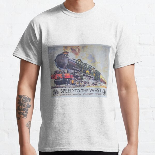 GWR vintage advert 'Speed To The West' Classic T-Shirt