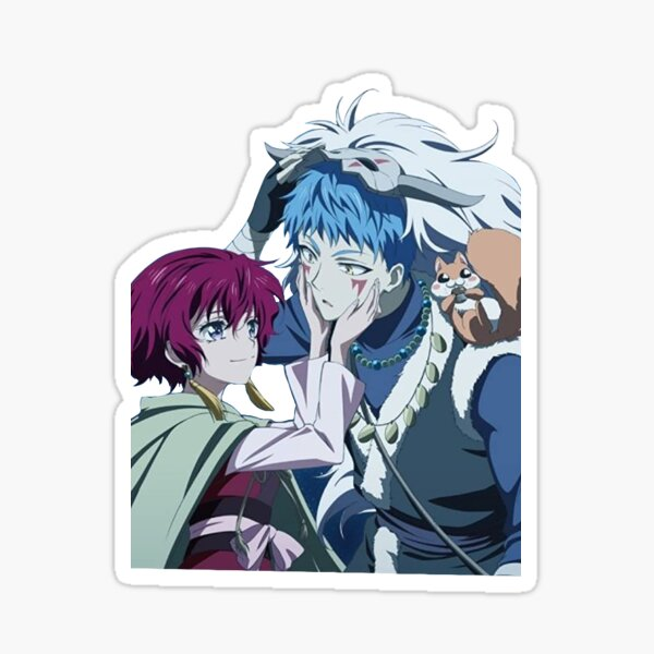 Yona and Shin-ah Sticker