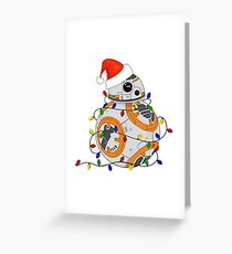 Deck the Droid Greeting Card
