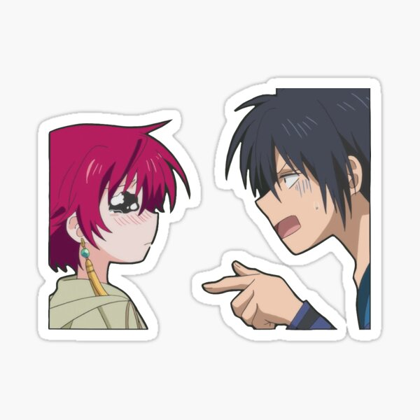 Hak and Yona Sticker